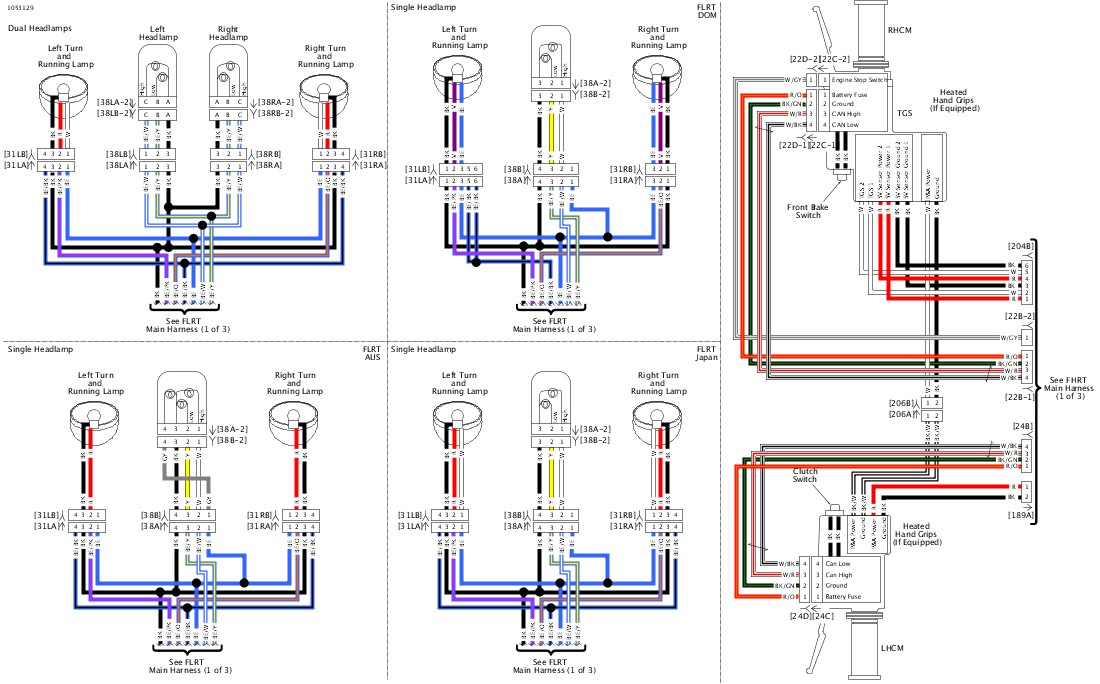 94000510_1089444_en_US - 2018 Wiring Diagram Wall Chart | Harley ...