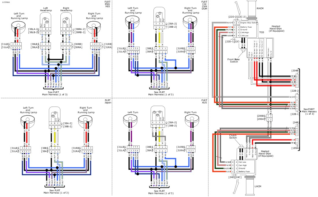 Basic Wiring Diagram Harley Davidson | Wiring Diagram on