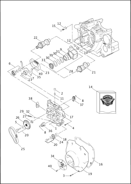 Camshafts And Camshaft Cover Twin Cam 88b™ 2 Of: 2 4 Twin Cam Engine Diagram At Sergidarder.com