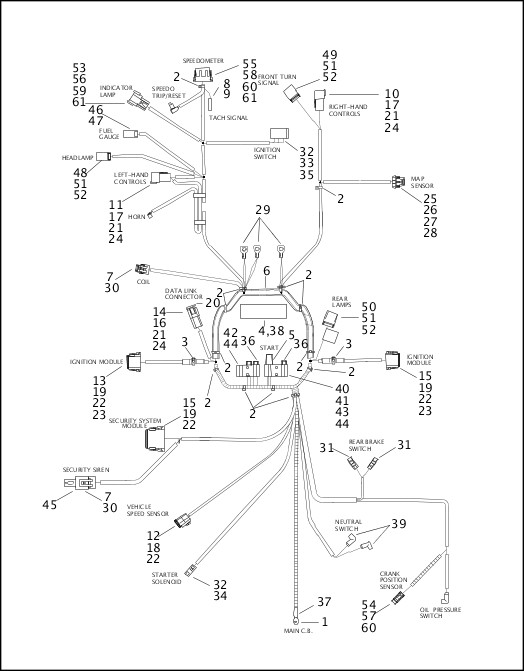 harley wiring diagram 1998