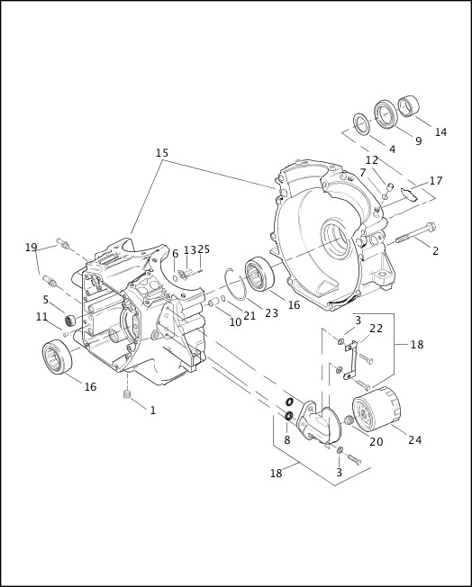 Harley Davidson Engine Diagram - Diagrams online on
