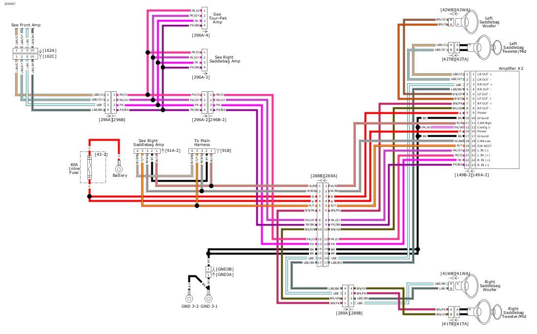 Harley Radio Wiring Diagram from serviceinfo.harley-davidson.com
