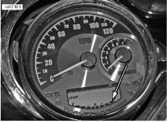 0/0 COMBINATION SPEEDOMETER/TACHOMETER GAUGE