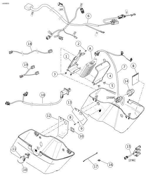 1980 fxef shovelhead wiring diagram best place to find wiring and Harley-Davidson Motorcycle Diagrams lifier installation kit for boom audio stage ii harley davidson wiring diagram