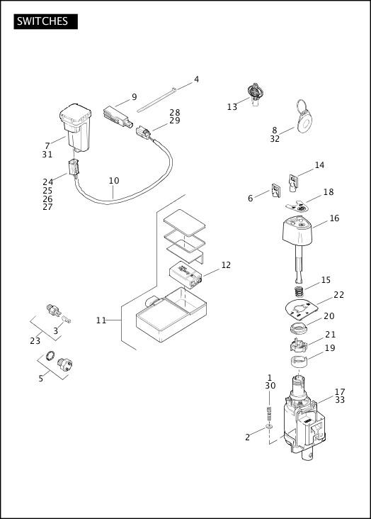 99433-11A_486144_en_US - 2011 FLHXSE2 Parts Catalog | Harley
