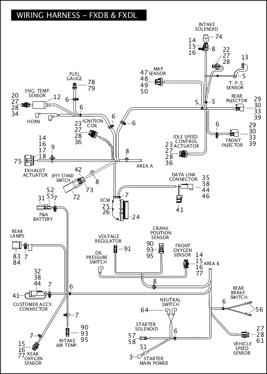 Harley Davidson 1980 Fxwg Wiring Diagram. . Wiring Diagram on
