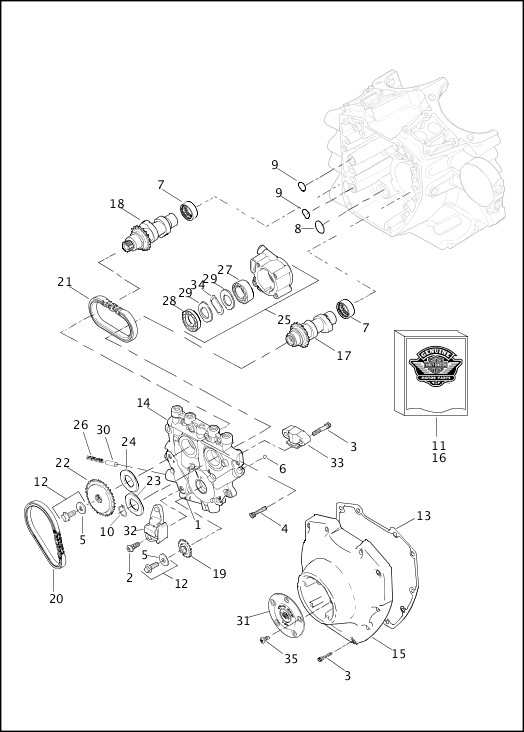 Camshafts Camshaft Cover Twin Cam 96™ 2 Of: 2 4 Twin Cam Engine Diagram At Sergidarder.com